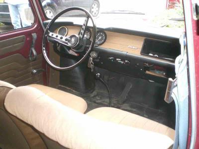 Blog de r81132 la restauration d 39 une renault 8 1132 for Renault 9 interieur
