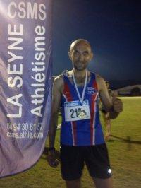 Régionaux sur Piste 2013 (La Seyne) – « JB » Champion Côte d'Azur Vétéran sur 5000 m