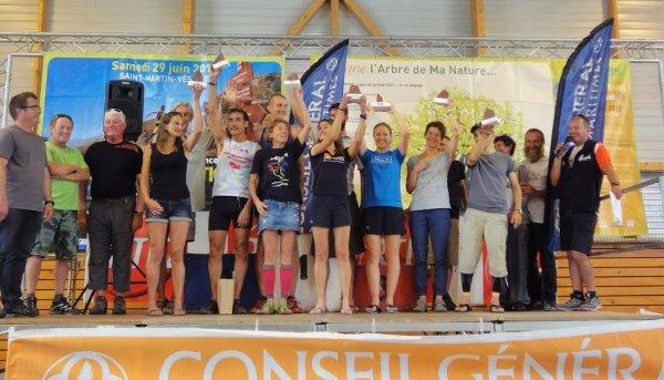 Trail de Valberg 2013 - Podium senior pour Aurélie sur le 46 km
